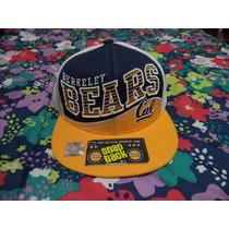 Gorra The Berkeley Bears Cal Etiquetada Ajustable Snap Back