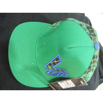 Gorra Vision Street Wear Verde Bordada Nueva $195.