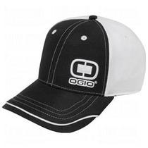 Gorra Ogio Bunker Cap Black Y Black-white