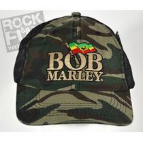 Bob Marley Gorra Trucker Importada 100% Original