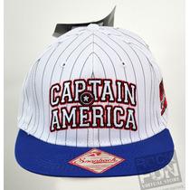 Capitan America Marvel Comics Gorra Importada 100% Orig. 3