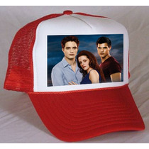 Gorra Twilight, Robert Pattinson, Taylor Lautner, Kristen St