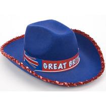 Stetson Hat - Jack Bandera Británica Juegos Olímpicos De D