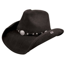 Gorra Stetson \roxbury\ Cuero De Shapeable Sombrero Occiden
