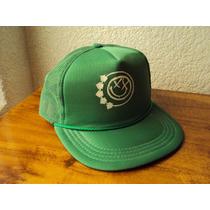 Gorra Verde Estilo Travis Barker De Blink 182 Trucker Hat.