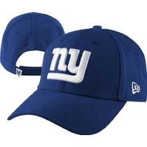 New York Gigantes New Era Vendimia Ajustable Sombrero - Azul