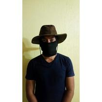 Sombrero Cazador Pesca Expedicion Indiana Jones Tipo Gamuza!