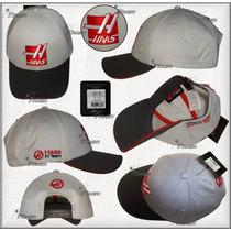 Gorra Haas F1 Team Linea 2016 Esteban Gutierez Genuina