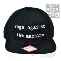 Rage Against The Machine Gorra Importada 100% Original
