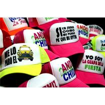 Gorras Personalizadas Estampadas Sublimadas Trailero Trucker