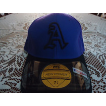 Gorra Azul Bravos De Atlanta New Power Original 7 1/4