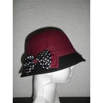 Nueva Boina Corte Ingles Mujer De Paño Sombrero Gorra
