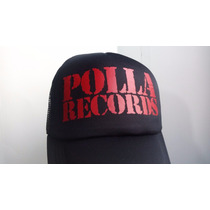 Gorra Polla Records, Tipo Camionero De Red
