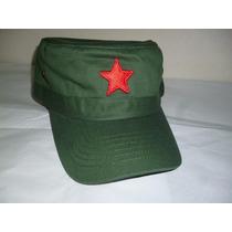 Gorra Bordada Tipo Militar Che Guevara Unitalla Dulto