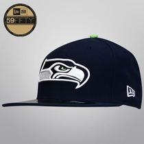 Gorra New Era 5950 Nfl Seattle Seahawks On Field