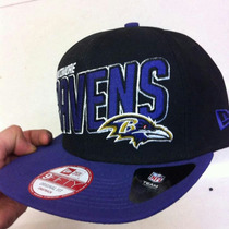 Gorra New Era Ravens Nfl Snapback Original