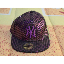 Gorra Morada Yankees De New York New Era Original 7 1/8