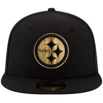Gorra New Era 5950 Nfl Pittsburgh Steelers Gold Team Sb Xlii