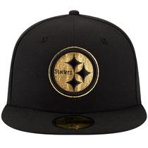 Gorra New Era 5950 Nfl Pittsburgh Steelers Gold Team Sb Xl