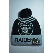 Gorro Beanie New Era Original Nfl Oakland Raiders