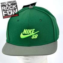 Nike Skate Boarding Gorra Flatbill 100% Original 7