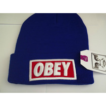 Gorros Obey Beanies Original Varios Colores Disponibles