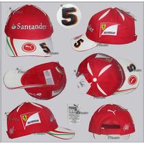 Gorra Puma Ferrari Sebastian Vettel Genuina F1 Linea 2016