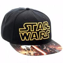 Gorra Star Wars Original Snap Back Dia Del Niño Disney