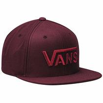 Gorras Vans Drop V Snapback Hat Vn-ooyeprt Vino Oi