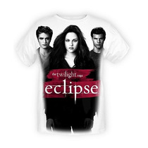Hot Topic Playera Twilight Eclipse Edward Bella And Jacob T-
