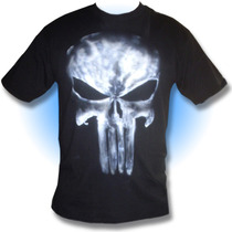 Playera Punisher, Castigador, Camisa Comic Airbrush Arte Rey