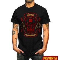 Playera King Monster Mod: Neon En Vandalosk8