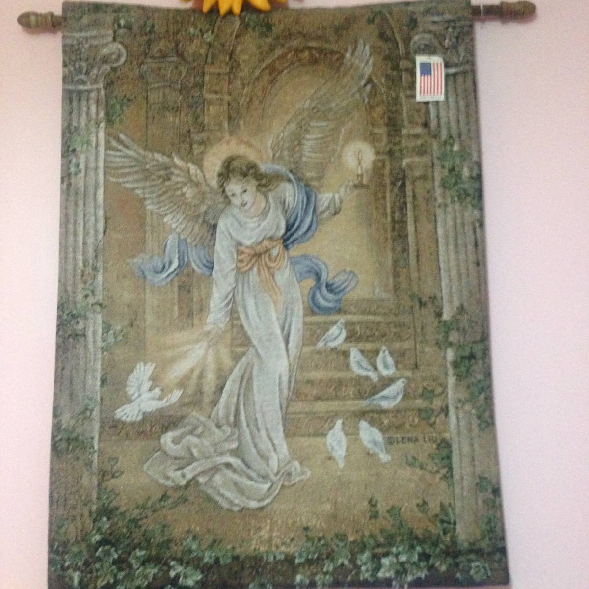 27 unique home interior pictures of angels - Tapices para pared ...