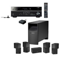 Bose Acoustimass 10 Home Theater Con Amplificador Yamaha
