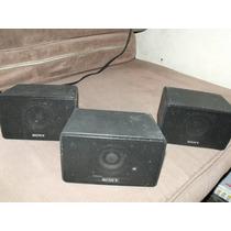 3 Bocinas Sony Para Teartro En Casa, O Proyecto . .