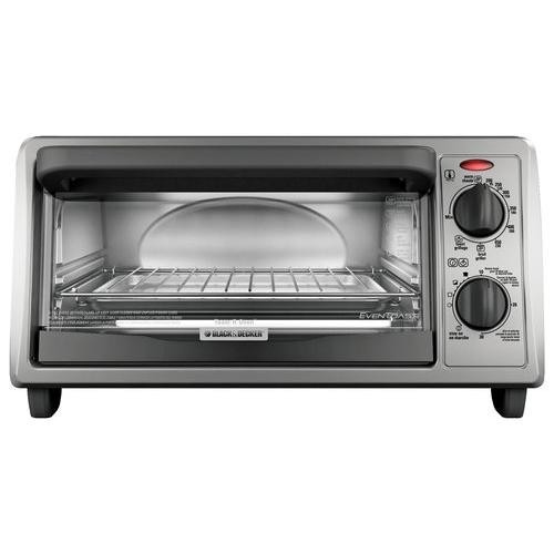 Horno tostador para 4 rebanadas black decker 2 151 for Horno electrico black decker