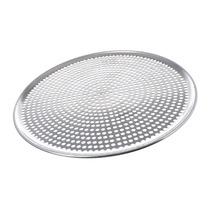 Charola Aluminio Perforada Pizza Pizzeria 36 Cm Pzap2035