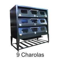 Hornos 9 Charolas Gndes Pizza Panadería Repostería C/cristal
