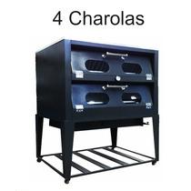 Hornos 4 Charolas Gndes Pizza Panadería Repostería C/cristal