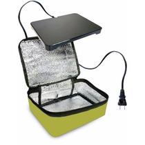 Bolsa Minihorno Oficina Portátil Calentador Hotlogic Verde