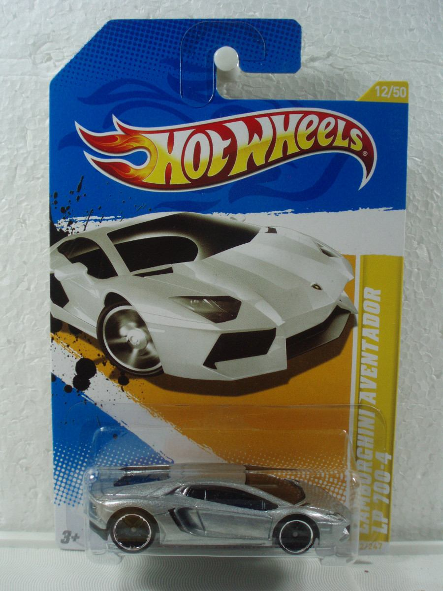 hot wheels lamborghini aventador lp 700 4 plateado 1 64 2012 en mer. Black Bedroom Furniture Sets. Home Design Ideas