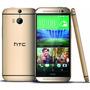 Htc One M8, 32 Gb, Dorado, Desbloqueado + Mica De Cristal