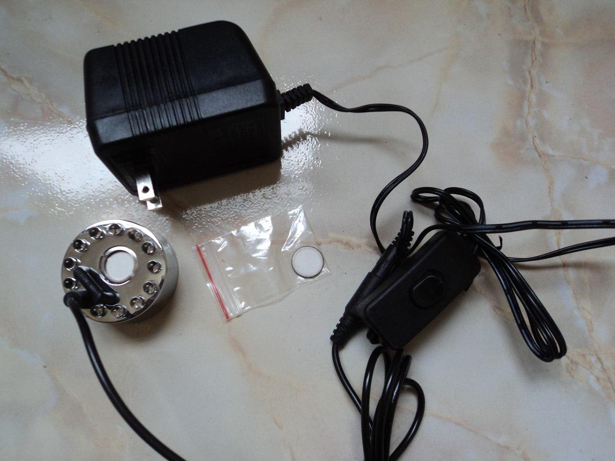 Humificador generador neblina con luz led y apagador de - Generador de luz ...