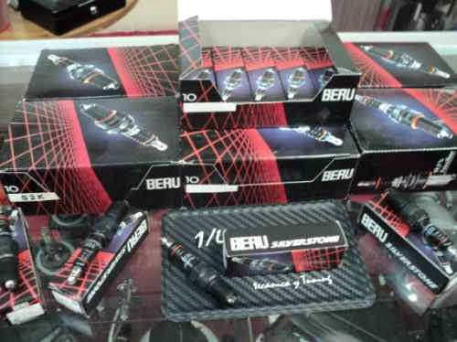 Hummer H2 V8 6.0 Bujias Beru Silverstone Electrodo Plata