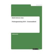 Prufungstraining Kds - Grammatikteil, Natalia Smirnova Limar