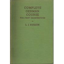 Libro De Idioma Alemán. Nivel Intermedio. En Inglés.
