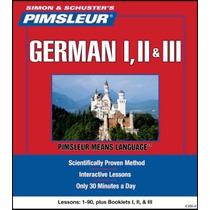 Aprende Alemán Método Pimsleur 3 Niveles 90 Sesiones Audio
