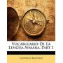 Vocabulario De La Lengua Aymara, Part 1, Ludovico Bertonio