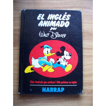 El Inglés Animado Walt Disney-ilustrado Color-larousse-op4