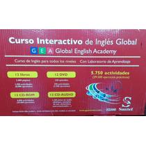 Curso Interactivo De Inglés Global (gea) - Todos Los Niveles